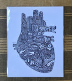 "Artery Ink ""Heart of Milwaukee"" Print"