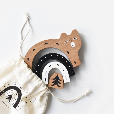 Bamboo Nesting Animals