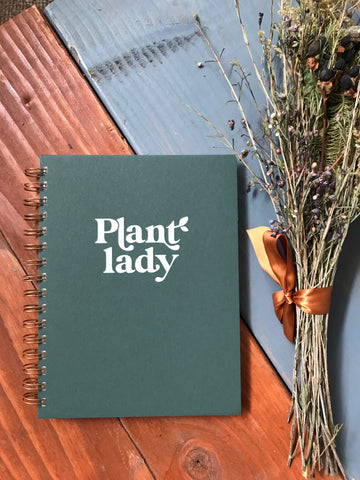 Plant Lady Spiral Notebook