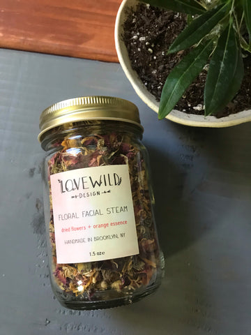 LoveWild Floral Facial Steam