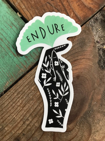 Endure Sticker