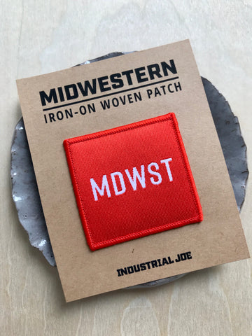 Mdwst Iron-on Patch