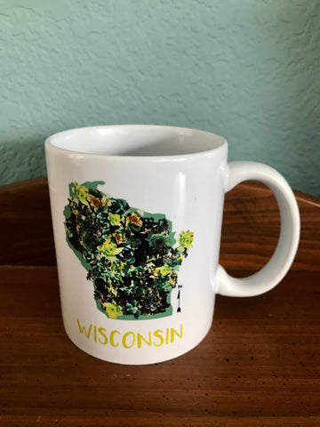Wisconsin Succulents Mug