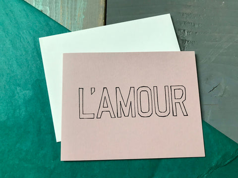 L'Amour Card