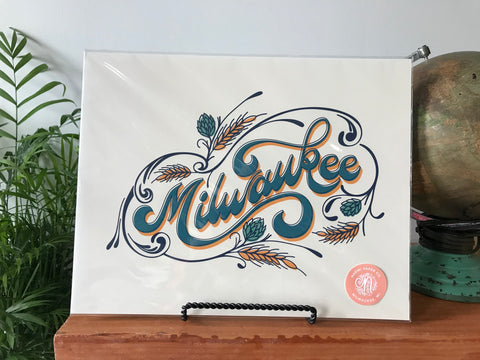 Milwaukee Print