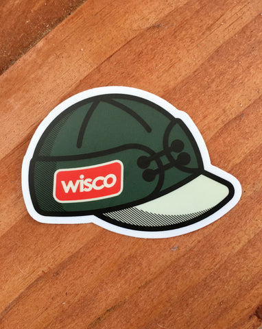Wisco Hat Sticker