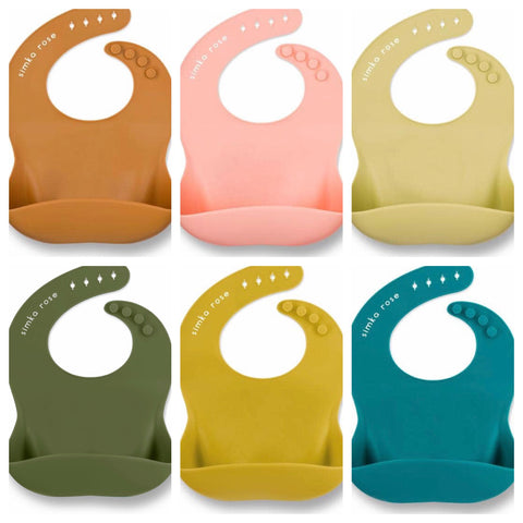 Silicone Bib-Assorted Colors