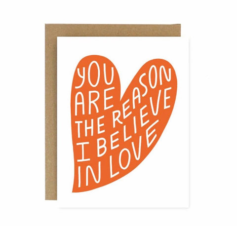 Believe in Love Card