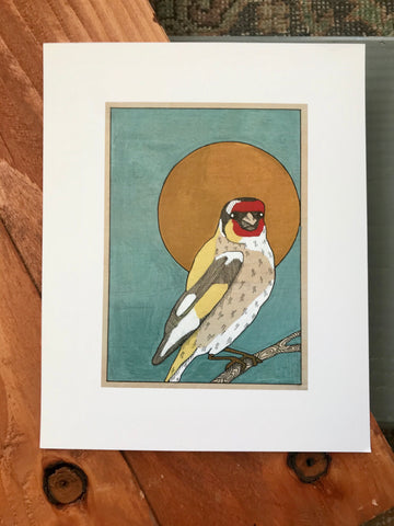 Gold Finch (original and prints available)