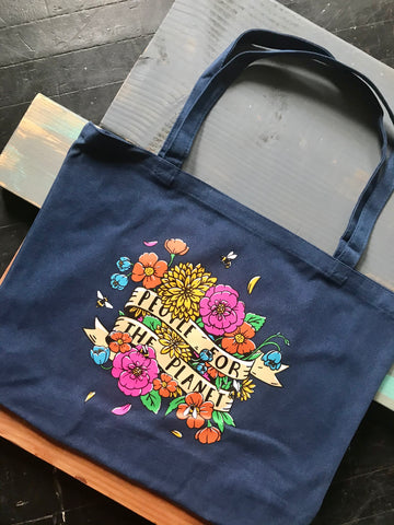People for the Planet Market Tote