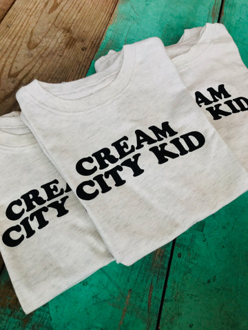 Cream City Kid Tee