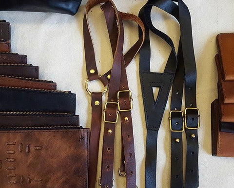 Directive Leather Braces (Suspenders)