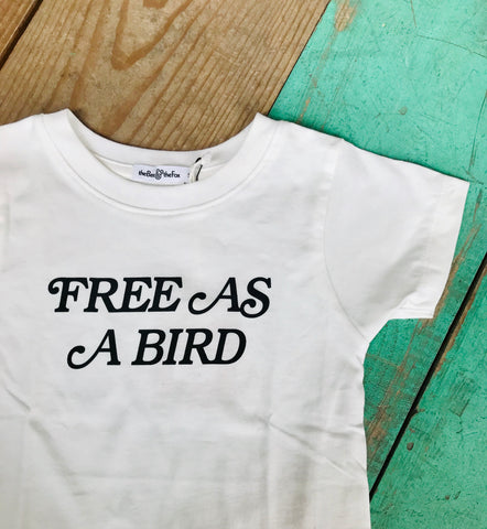 Free As A Bird Kids Tee