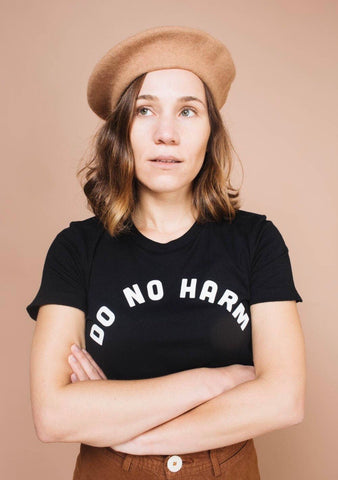 Do No Harm But Take No Shit Women's Tee