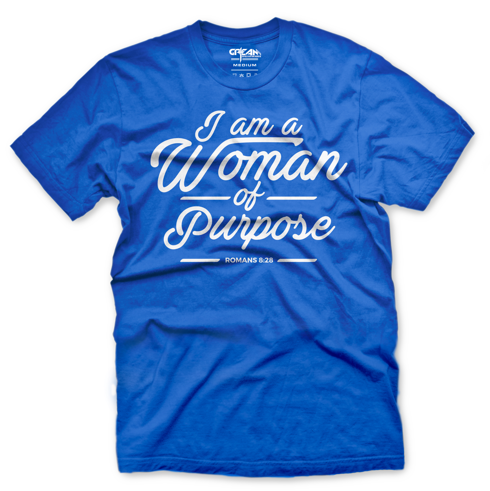 Women of Purpose Royal Blue Tee