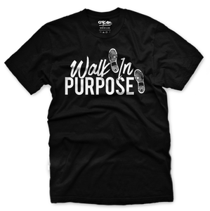 Walk In Purpose Tee - Unisex