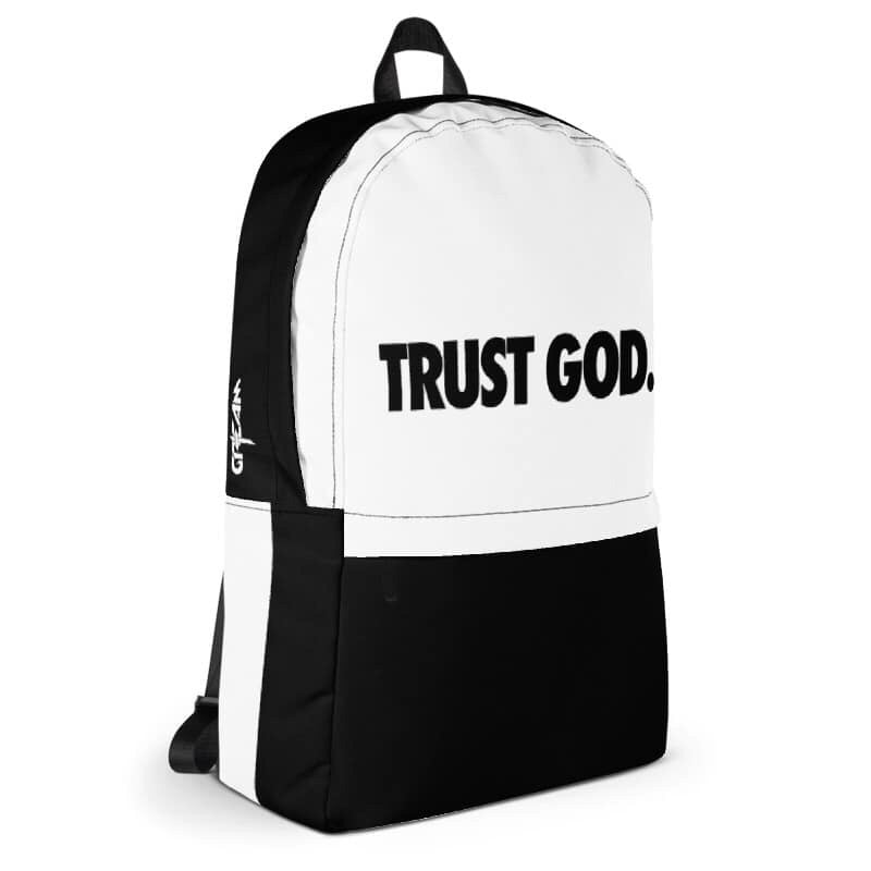 TRUST GOD. Backpack