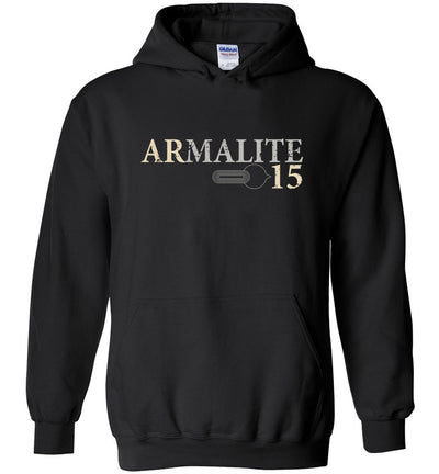 Armalite AR-15 Rifle Safety Selector Men's Hoodie - Black
