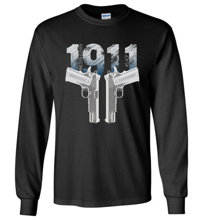 Colt 1911 Handgun - 2nd Amendment Long Sleeve Tee