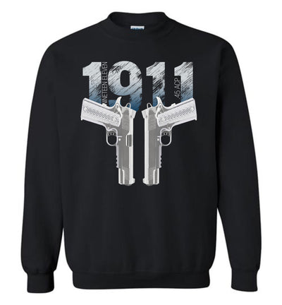 Colt 1911 Handgun - 2nd Amendment Sweatshirt