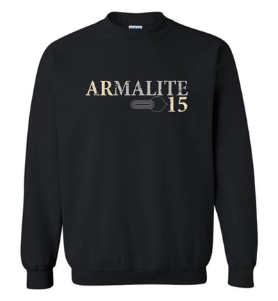 Armalite AR-15 Rifle Safety Selector Men's Sweatshirt - Black
