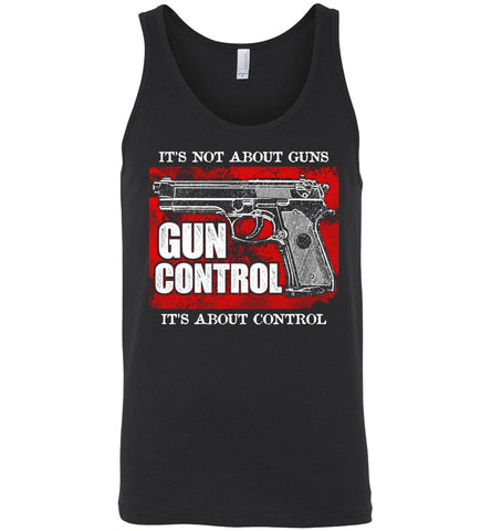 It's Not About Guns... Men's Tank Top