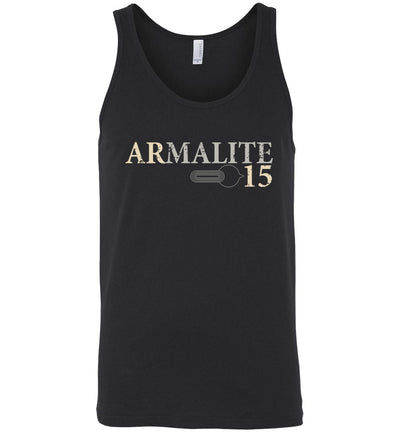 Armalite AR-15 Rifle Safety Selector Men's Tank Top - Black