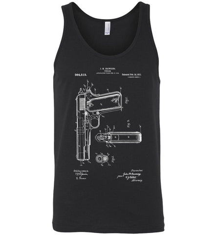 Model 1911 Handgun Men's Tank Top