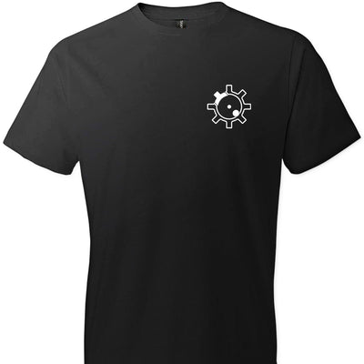 AR-15 Bolt Face - Men's Pro Gun T Shirts - Black