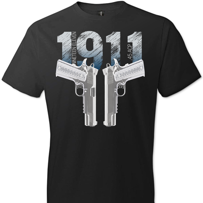 Colt 1911 Handgun - 2nd Amendment Men's Tee