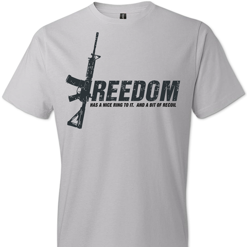 Freedom Has a Nice Ring to It. And a Bit of Recoil T-Shirt
