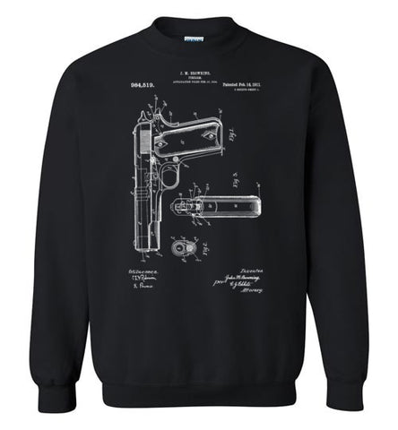 Model 1911 Patent Sweatshirt