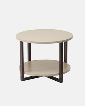 Side table, beige