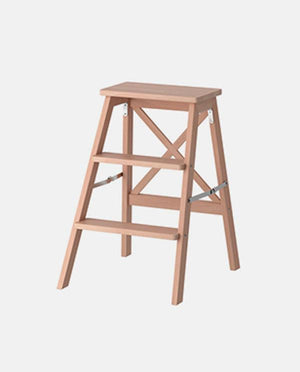 Stepladder, 3 steps, beech