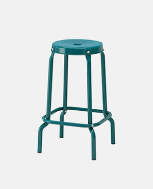Bar stool, blue