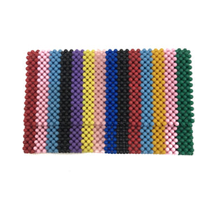 Beaded clutch bag (small)