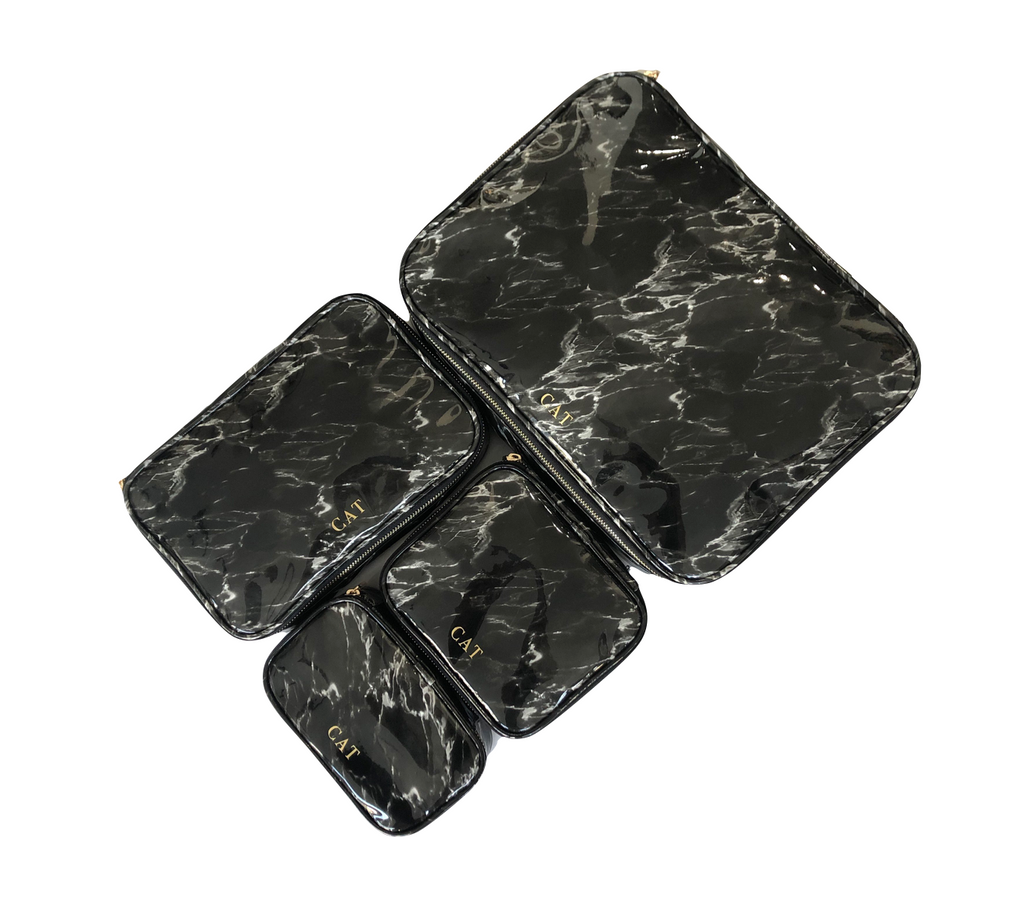 Marble Pops luggage organizer (SET OF 4)