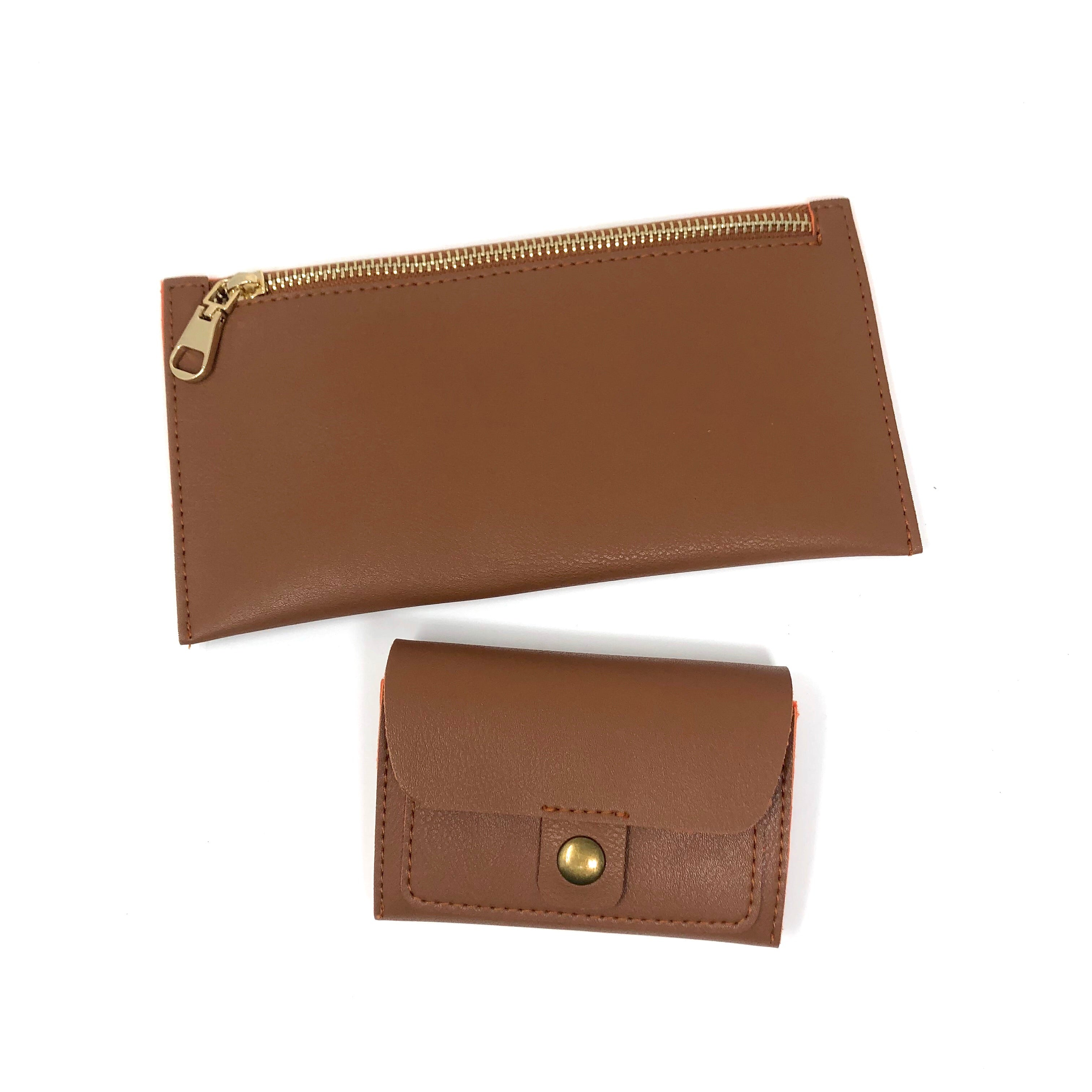 Cristine slim wallet & James card holder