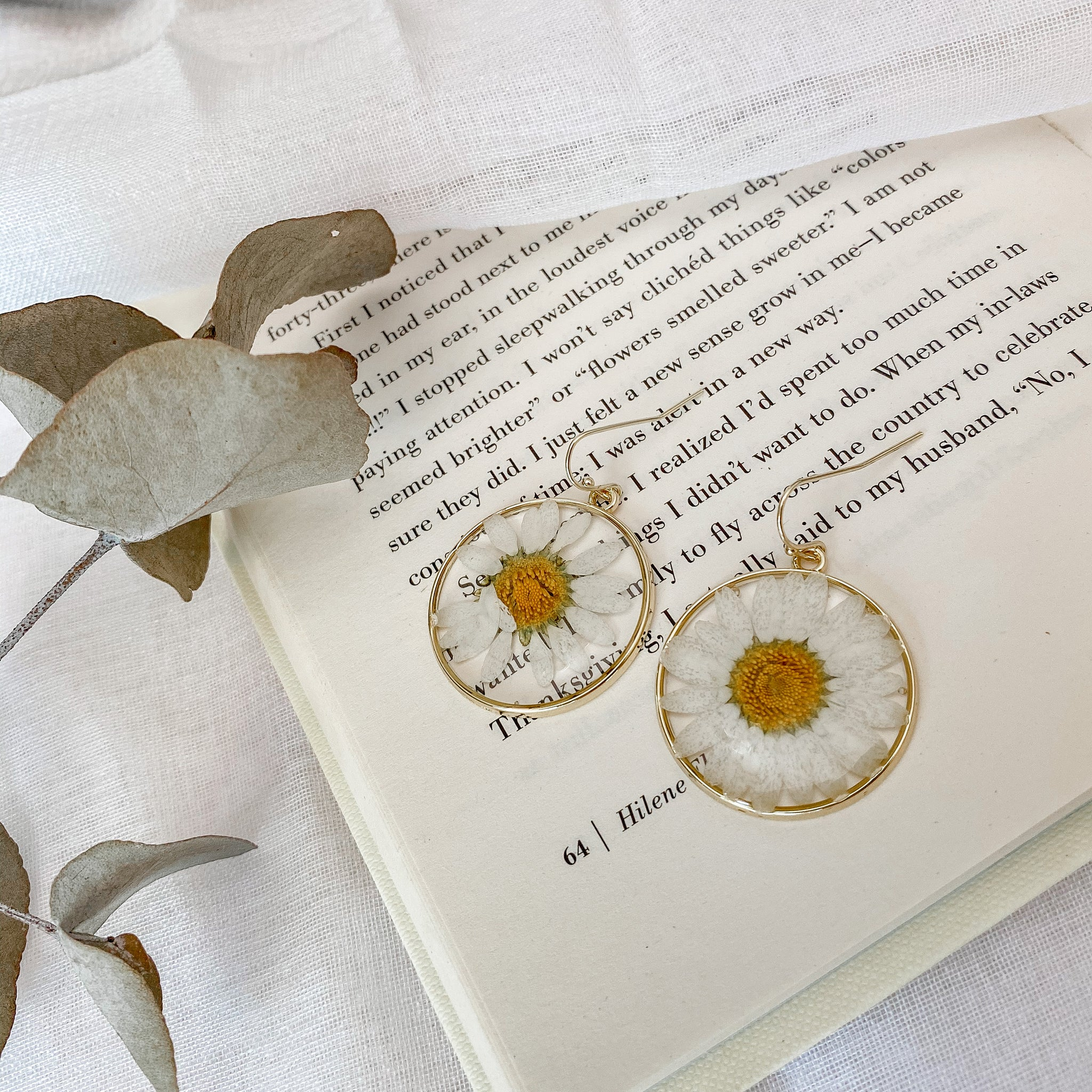 Daisy Earrings - Filly Faux