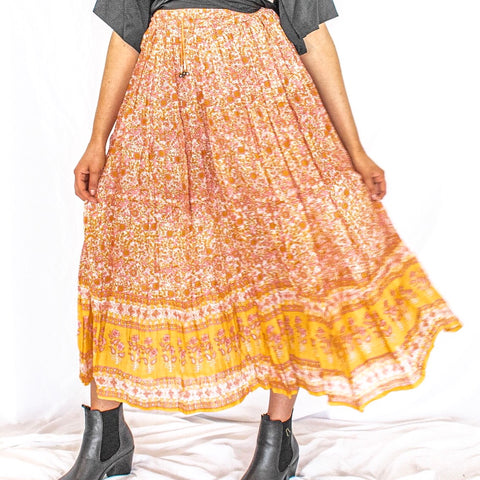 Gypsy Boho Skirt - Filly Faux