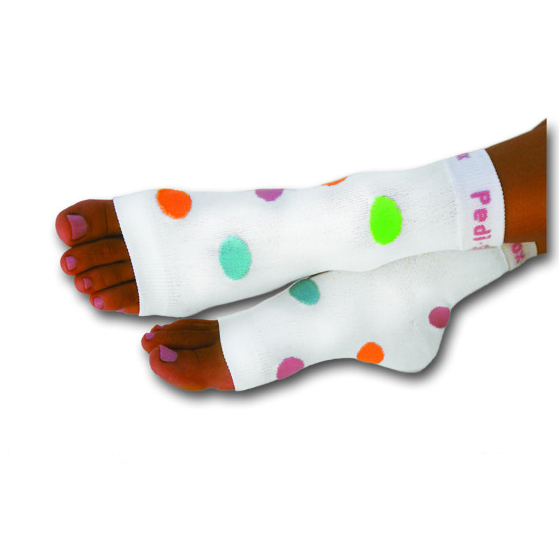 Original Pedi-Sox® - California Lite - Four Color Polka Dot
