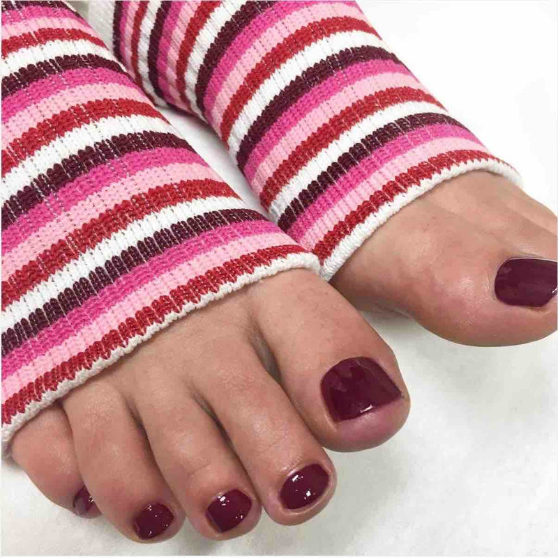 Original Pedi-Sox® - Multi-Pink Stripes
