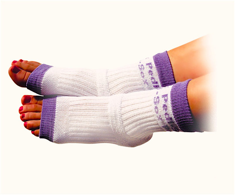 Original Pedi-Sox® - Classic Purple Trim