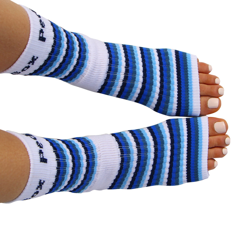 Original Pedi-Sox® - Ocean Blue's Stripes  **NEW**