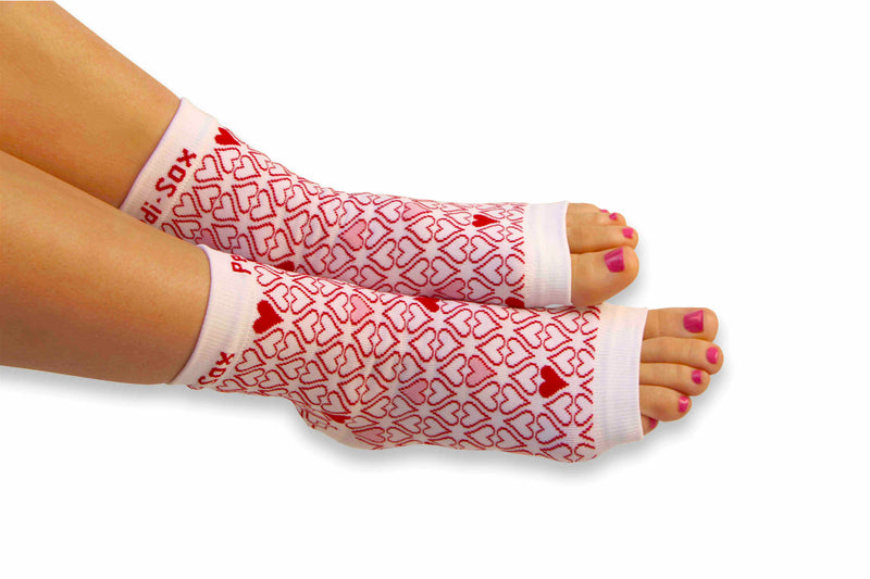 "Original Pedi-Sox® - Ultra - ""Hearts of Love"""