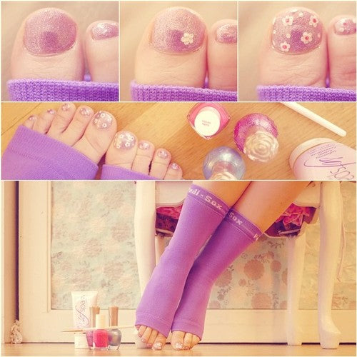 Original Pedi-Sox® - California Lite - Violet Belle