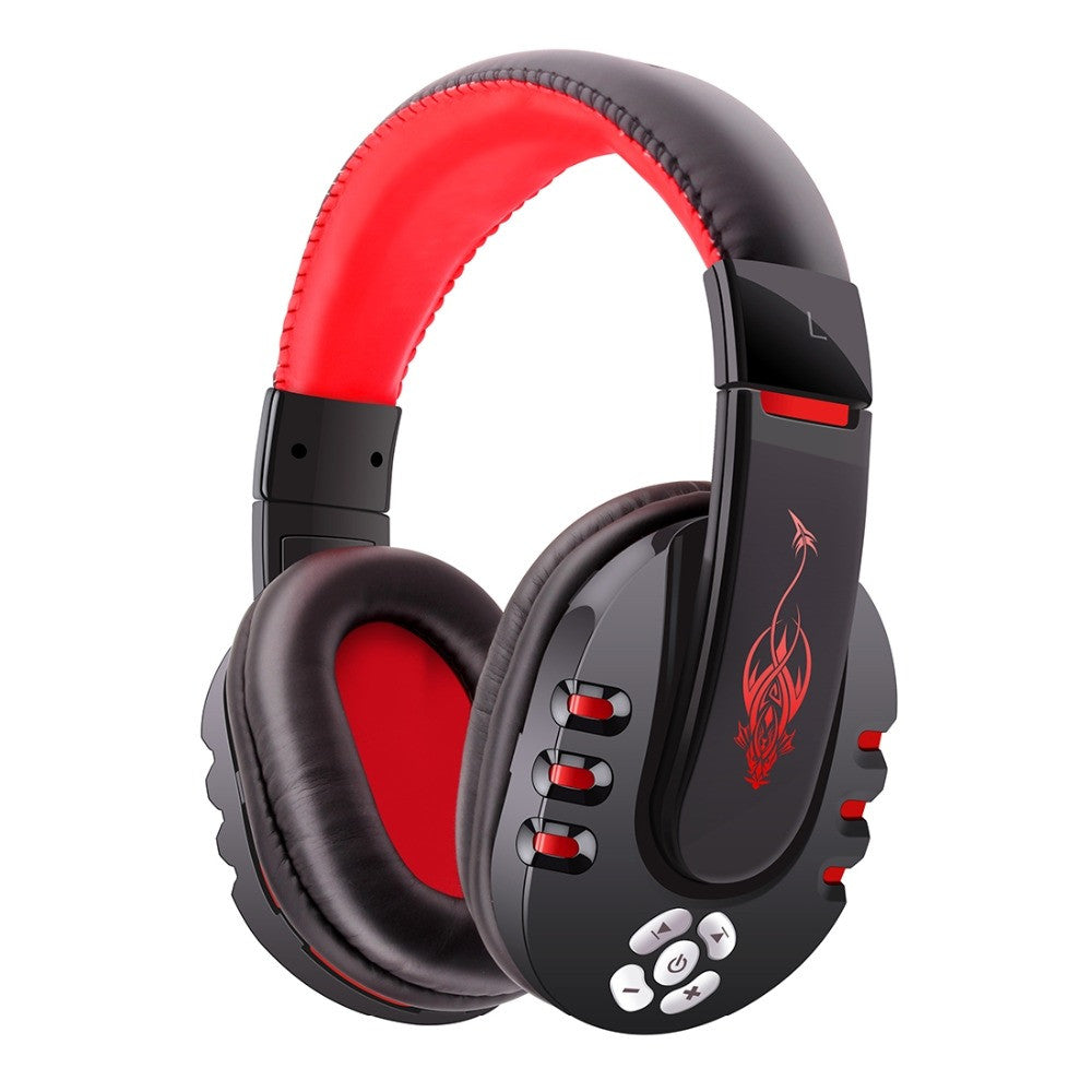 Bluetooth Headset Stereo Bass Portable Over with MIC