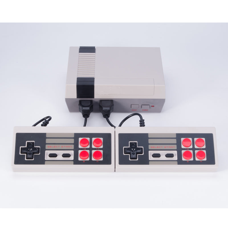 Retro Game Console 600 Built-in Classic NES Games with 2 Controllers