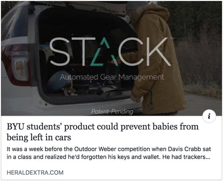Stack Trackers In The News