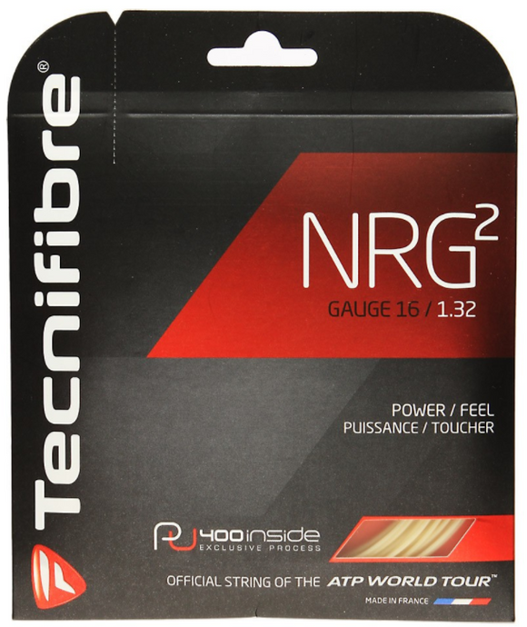 Stringing with Tecnifibre NRG2 16 String